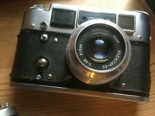 Vintage Russian Fed 4 Camera good working and cosmetic condition.