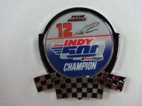 2018 Indianapolis 500 102nd Champion Will Power Team Penske Collector lapel Pin