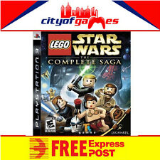 LEGO STAR WARS: THE COMPLETE SAGA PS3 BRAND NEW &SEALED Free Express Post