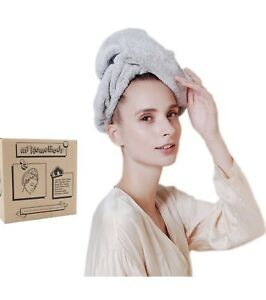 Hair Towel Wrap | Rapid-Dry Hair-Drying Turban For Short Or Fine Hair - Gift