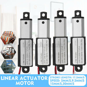 Electric Linear Actuator Motor 5MM/S 9.5MM/S 15MM/S 30MM/S 12V DC 17.5mm Opener