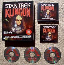 Star Trek Klingon in Box - Adventure Game