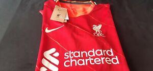 Liverpool Home Shirt Season 21/22 Large BNWT