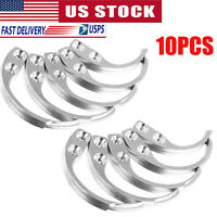 10PCS Security Hard Tags Tool Key Hook EAS System For Clothes Alarm Supermarket