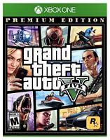 Grand Theft Auto V 5 Xbox One Brand New Factory Sealed GTA 5 Premium Edition XB1