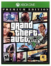 New! Grand Theft Auto V 5 (Xbox One) Factory Sealed Gta 5 Premium Edition Xb1