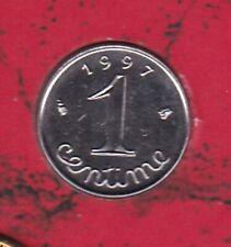 1 CENTIME EPI INOX 1997 DU COFFRET BU