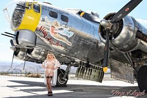 Wings of Angels Malak WWII Pin Up Caitlin the B-17 Doll