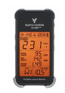 New Swing Caddie SC200 PLUS Portable Golf Launch Monitor