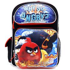 Angry Birds Película Mochila Escolar 16in Grande Mochila Why so Angry