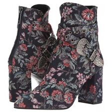 NEW Badgley Mischka Morrisey Floral Brocade Ankle Boot, Women Size 9, $375