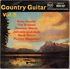 "PORTER WAGONER + 5 ""COUNTRY GUITAR VOL. 5"" COUNTRY ROCKABILLY EP 1958 RCA 127"