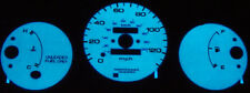 Free Ship 1996-2000 Honda Civic No RPM Manual Glow Gauge Face Overlay