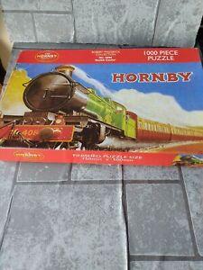 Hornby - 1000 piece Jigsaw Puzzle - steam train. Builth Castle.