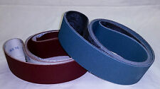 "2""x72"" Sanding Belts Zirc/AO Variety Pack Knife Makers Starter Kit (9pcs)"