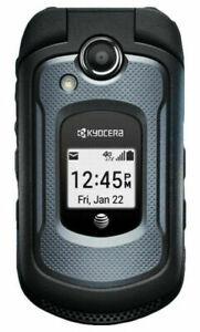 Kyocera Dura XE E4710 AT&T GSM 32GB Rugged Camera Flip Phone  DuraXE Black