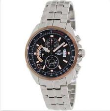 Casio Men's Edifice EFR501D-1AV Silver Stainless-Steel Quartz Watch