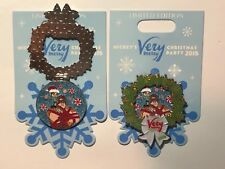 Disney 2018 Mickey Merry Christmas Party Wreck it Ralph & Vanellope Pin LE 5500