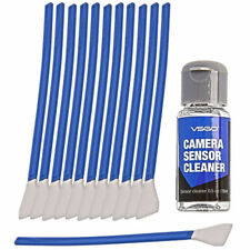 VSGO 12Pcs Sensor Cleaning Swab Fluid Kit Set For APS-C CMOS DSLR Digital Camera