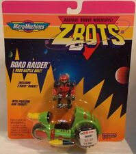 Z-Bots Micro Machines - Road Raider Robo-Battle Bike Motorcycle Galoob (MOC)