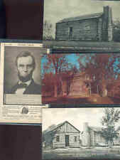 pc11201 postcard Abraham Lincoln Related FOUR none postally used