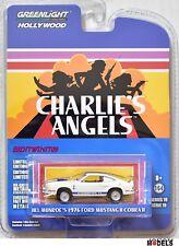 JILL MUNROE'S 1976 FORD MUSTANG COBRA II 2 Charlie's Angel Greenlight 1/64 New