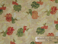 Silent Night Angels Cream Religious Christmas Fabric by the 1/2 Yard #12151