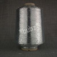 FINE LUREX METALLIC GLITTER YARN - 500g CONE - MACHINE KNITTING SPARKLE GLITTER