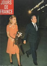 jours de france n° 881 tina niarchos sylvie vartan 1971