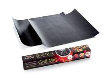 Grill Mats Reusable Cooking  BBQ Grill Mat 2 Non Stick Oven Liner Teflon