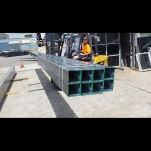 Steel / Box Steel - 100 x 100 x 4.0 GAL SHS @ 8000mm