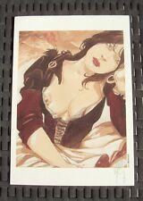 France F. Meddour (copyright edition) erotic offset ex-libris - hand signed