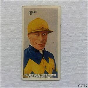 Godfrey Phillips Cigarette Card In The Public Eye #22 Freddie Fox (CC77)
