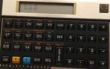 HP 12C Financial Calculator original case owner's handbook problem solving guide