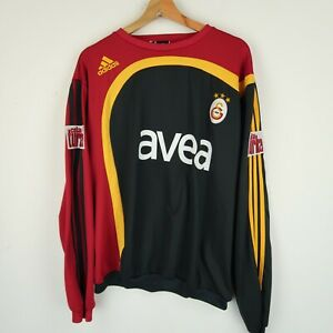 ADIDAS Galatasaray football Training sweatshirt top  SZ LARGE ( G725)