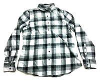J Crew Womens Gray Plaid Long Sleeve Button Front Shirt Size Medium