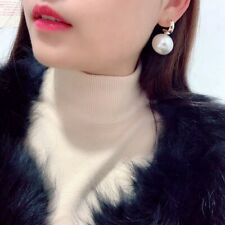 Ear Stud Jewelry Gift 1 Pair Fashion Pearl Women Elegant Drop Dangle Earrings