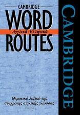 Cambridge Word Routes Anglika-Ellinika by Michael McCarthy (1996, Paperback)