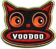 VOODOO CAT by von spoon EMBROIDERED IRON-ON PATCH **FREE SHIPPING** kitty pfdp58