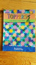 Toppers 2- Quilt Pattern Book by Lynda Milligan and Nancy Smith 2003