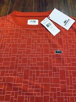 NWT~ LACOSTE SPORT Mens Ultra Dry T-Shirt - Size 7(XL)