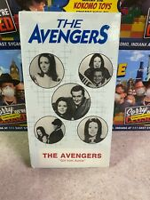 Vintage 1986 THE AVENGERS GIRL FROM AUNTIE TV Series Original VHS NEW Sealed