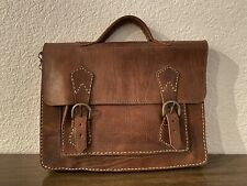 Vintage Spanish Leather Briefcase