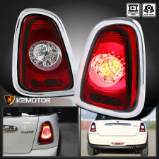 Red 2011-2015 Mini Cooper Base S LED Rear Brake Stop Tail Lights Signal Lamps