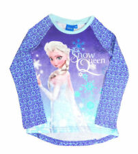 Abbigliamento blu Disney con girocollo per bambine dai 2 ai 16 anni