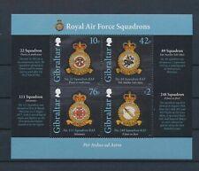 LL93514 Gibraltar coat of arms good sheet MNH