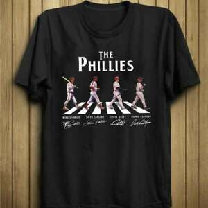 The Phillies Abbey Road Signatures Shirt 2021 MLB Funny Vintage Gift For Men