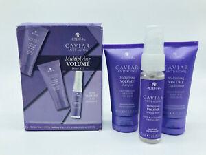 ALTERNA Caviar Multiplying Volume Trial Kit 3 Piece NEW Damaged Box