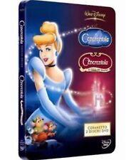 DISNEY DVD CENERENTOLA E CENERENTOLA 3 steel - celophan