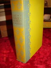 THE THREE MUSKETEERS - Heritage Press - 1950 - Dumas - VGC NO SANDGLASS, JACKET